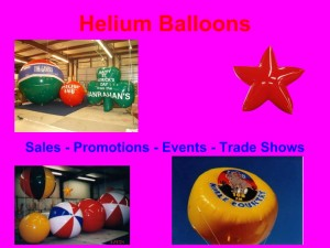 helium advertising balloons and custom shape helium advertising balloons