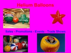 helium advertising balloons and custom shape helium advertising balloons