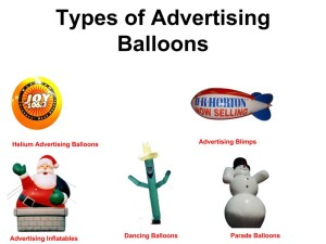 helium advertising balloon, red , white , blue advertising blimp, advertising inflatable, airdancer and giant snowman shape helium parade balloon for sale in California
